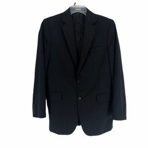 Calvin Klein Mens Black Regular Blazer Medium